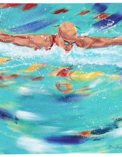 """Benoit Huot, 2012, acrylique sur toile, 91 x 122 cm (36"""" x 48"""")"""