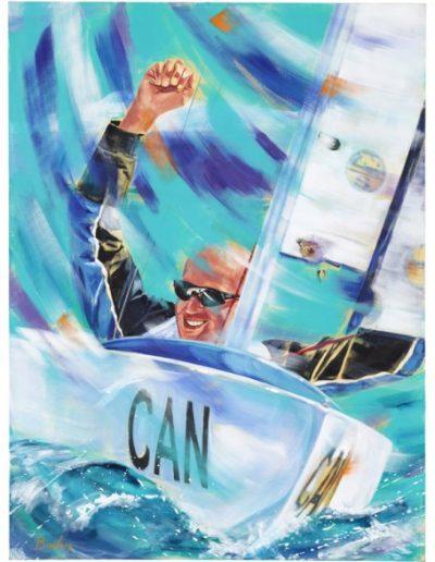 """Paul Tingley, 2012, acrylique sur toile, 122 x 91 cm (48"""" x 36"""")"""