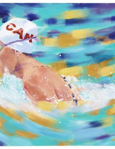 """Summer Mortimer, 2012, acrylique sur toile, 91 x 122 cm (36"""" x 48"""")"""